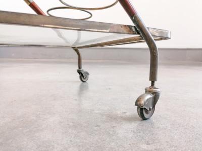 Carrello portavivande design italiano Cesare LACCA, Italia, Anni 40/50