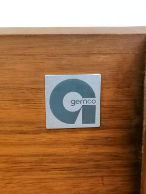 Giradischi vintage Gemco - GARRARD 1000 a quattro velocità. Inghilterra, Anni 60