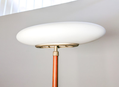 Lampada da terra PAO F design Matteo THUN per ARTELUCE, a luce dimmerabile. Italia, Anni 90