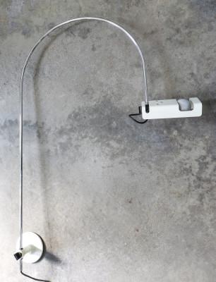 Lampada da parete Spider design Joe COLOMBO per OLUCE Italia, Anni 60/70