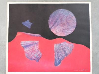Manifesto della mostra di Max ERNST, Galleria Iolas Roma, Anni 60