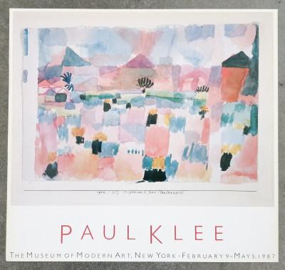 Manifesto della mostra di Paul KLEE, Museum of Modern Art New York, 1987