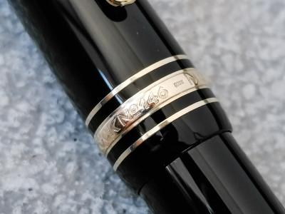 Parure di penne MONTBLANC Meisterstuck n°146 composta da stilografica e penna a sfera in astuccio originale, con certificato di garanzia sdf