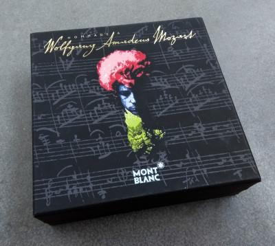 Penna a sfera MONTBLANC Meisterstück Edizione limitata Hommage à W. A. MOZART con CD musicale. Germania