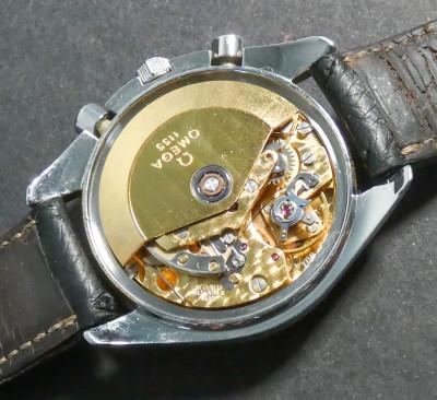 Cronografo automatico OMEGA Speedmaster cal 1155 - Valjoux 7750 ref 17500.43. Svizzera, Anni 90