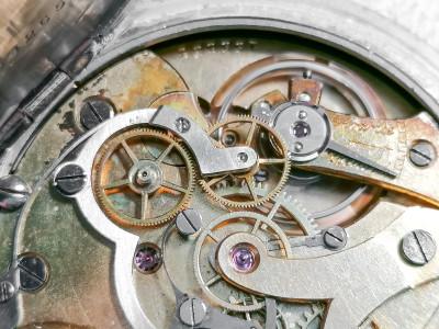 Orologio / Cronometro da tasca UNIVERSAL Watch Lzo Corda, Torino Svizzera, Primo Novecento