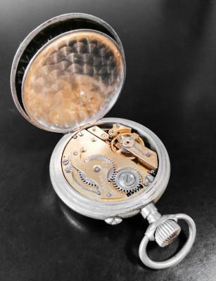 Orologio da tasca ROSSKOPF & Cie Brevet n° 22061 Svizzera, Fine Ottocento Primo Novecento