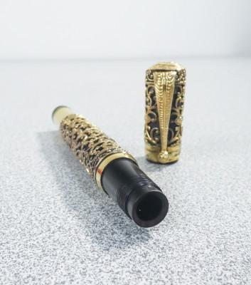 Penna stilografica WATERMAN Ideal Safety - laminata in oro 18 kr. USA, Anni 10
