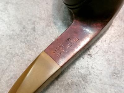 Pipa fatta a mano DUNHILL Bruyere 4108 Bullmoose Rodata. Inghilterra