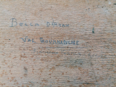 Dipinto a fima Francesco VERTICE Becca d