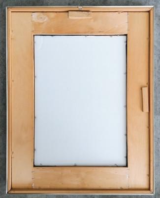 Quadro a firma Sandro CHERCHI, in acquerello e pastello su carta. Italia, Novecento