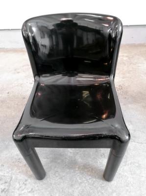 Set di quattro sedie KARTELL 4875 design Carlo BARTOLI. Italia, Anni 70