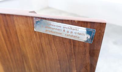 ?? SIDEBOARD DESIGN AMMANNATI VITELLI CATALANO MOBILE BAR CREDENZA LEGNO NOCE