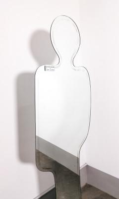 Specchio di design Narciso Claudio PLATANIA per Pierre CARDIN Nuova Linea ACERBIS. Italia, 1969