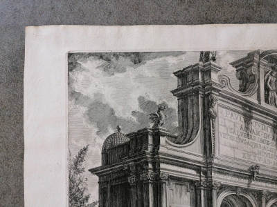 PIRANESI, G. Battista Veduta del Castello dell