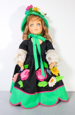 Bambola in panno Lenci Tosca LENCI. Torino, Italia