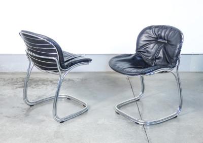 Coppia di sedie Sabrina, design Gastone RINALDI per RIMA. Italia, Anni 50