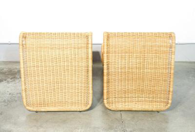 Coppia di sedie lounge P3, design Tito AGNOLI per P. BONACINA. Italia, Anni 60