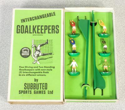 Confezione SUBBUTEO Goalkeepers - Portieri Set C. 133. Inghilterra, Anni 70