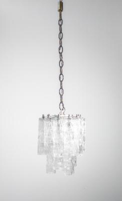 ?? LAMPADARIO SERIE CALZE DESIGN VENINI VETRO SOFFIATO MURANO 1960 HANGING LAMP