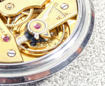 Orologio da tasca OMEGA cal. 38.5L T1 a carica manuale. Svizzera, Anni 30/40