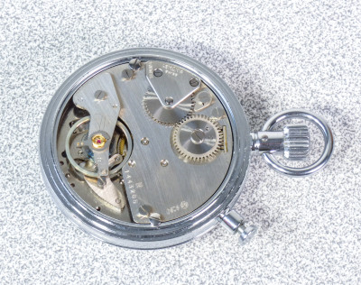 Orologio/Cronometro da tasca LEMANIA 8260 Olimpionico Svizzera, Anni 60