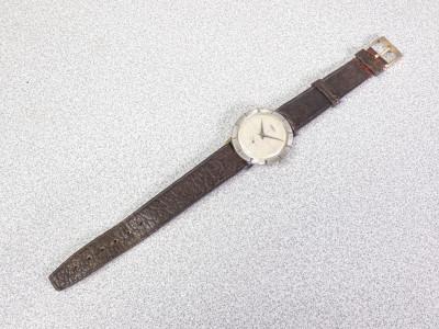 Orologio da polso a carica manuale AUREOLE 17 Rubis Incabloc Movimento FHF 76. Cinturino in pelle. Svizzera, Anni 60