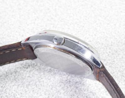 Orologio da polso RAKETA Petrodvorets Classic, cal. 2609 NA, custodia originale. Russia, Anni 80