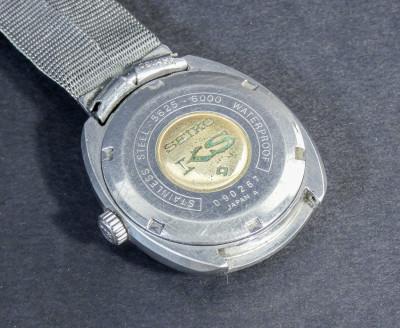 Orologio da polso automatico SEIKO KS Hi-Beat 5625-6000, 25 gioielli, calendario a ore tre. Giappone, Anni 70