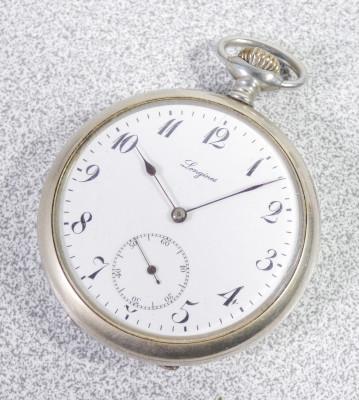Orologio da tasca LONGINES cal 19.75n, n° 3378880. Svizzera, Fine Ottocento Primo Novecento