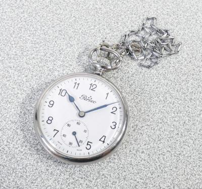 Orologio da tasca a carica manuale PERSEO FS Cort 160 Mov. Unitas 6497. Svizzera, Anni 60