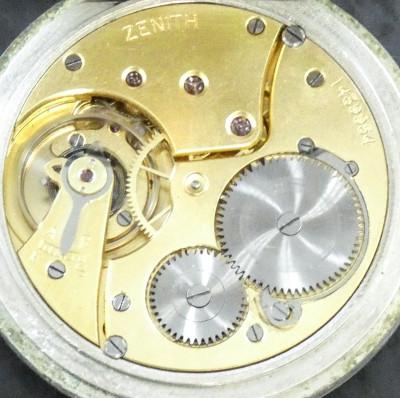 Orologio da tasca a carica manuale ZENITH. Primo Novecento