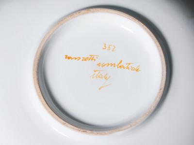 ?? ROMETTI ITALY UMBERTIDE SERVIZIO CERAMICA MAIOLICA DESIGN PORCELLANA CAFFE TE