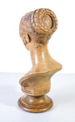 Busto di donna in stile classico, Manifattura DI SIGNA. Italia, Primo Novecento