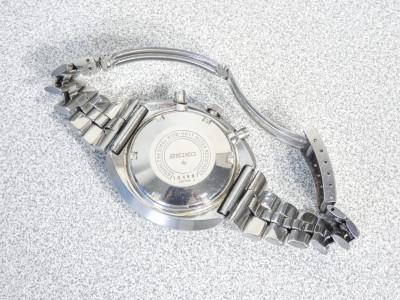 Orologio da polso SEIKO Chronograph Automatic 6138-0011 con datario a ore 3. Giappone, anni 70