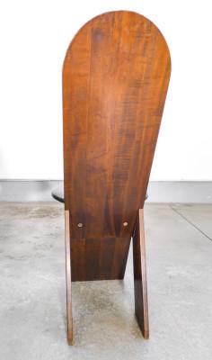 Set di quattro sedie, design Marco ZANUSO per POGGI, associate al tavolo TL58. Italia, Anni 70