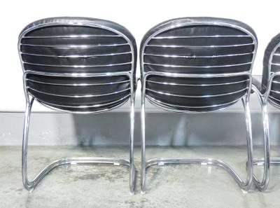 Set di quattro sedie Sabrina, design Gastone RINALDI per RIMA. Italia, Anni 50