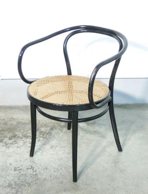 Set di otto sedie in legno di faggio curvato DREVOUNIA Czechoslovakia. Anni 50