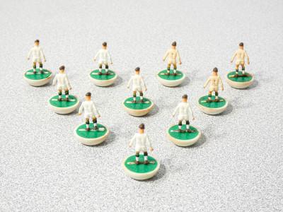 Confezione SUBBUTEO Team - Squadra Ref. 176. Inghilterra, Anni 70
