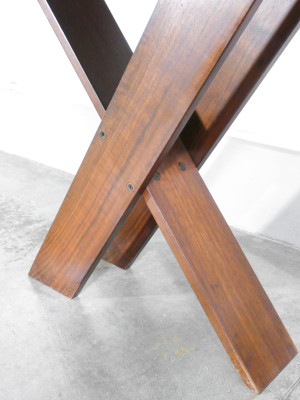 Tavolo TL58 design Marco ZANUSO per POGGI. Italia, Anni 70
