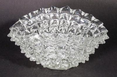 Vaso rostrato in vetro soffiato attribuibile ad Ercole BAROVIER Italia, Anni 30