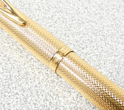 Penna stilografica WATERMAN CF versione dorata. Francia, Anni 50